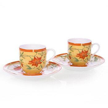 【送料無料】 HERMES エルメス シエスタ ペア コーヒー カップ&ソーサー(Coffee Cup&Saucer) 3117
