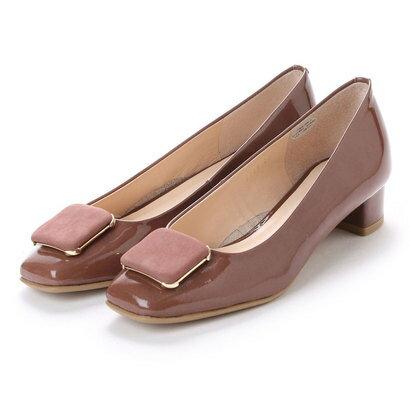 アンタイトル シューズ UNTITLED shoes パンプス UT9336 (ダークピンクエナメル)