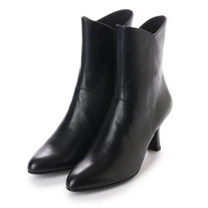 ビューフォートエレガンス BeauFort elegance 7センチヒール2Eシュートブーツ (ブラック)