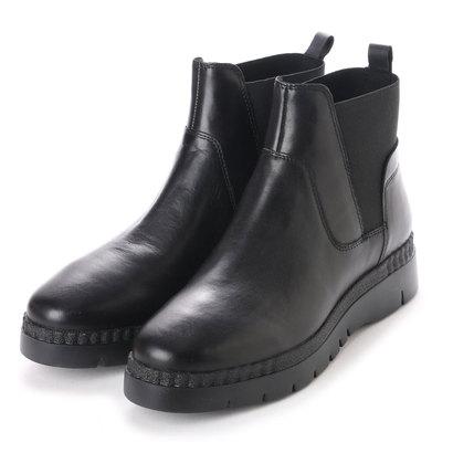 ジェオックス GEOX ANKLE BOOTS (BLACK)
