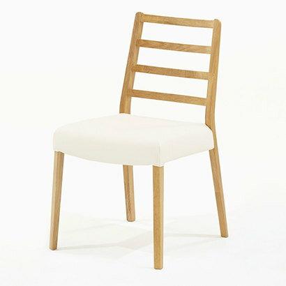 [エントリー&楽天カード利用でポイント最大15倍!]12月16日19:59までIDC OTSUKA/大塚家具 椅子 シネマ Aタイプ レッドオーク材/WO色 PVCアイボリー (ホワイトオーク)