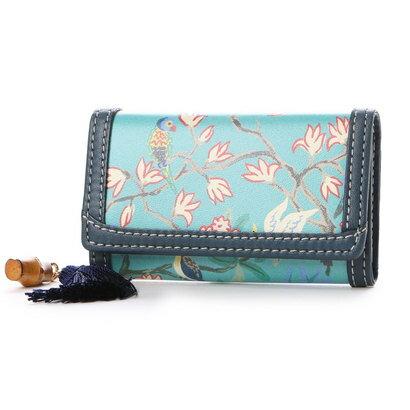 ケイタマルヤマ アクセサリーズ KEITAMARUYAMA accessories オリエンタル キーケース (ブルー)