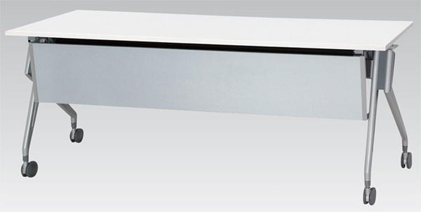 【期間限定!全品ポイント5倍~】 フォールディングテーブル STD-1845M 幕板付 机 LOOKIT オフィス家具 インテリア