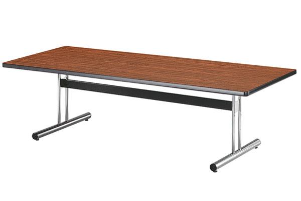 ミーティングテーブル T型脚 会議スペース 事務所 SOHO LOOKIT オフィス家具 インテリア