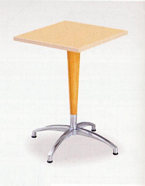 【期間限定!全品ポイント5倍~】 ラウンジテーブル 休憩所 喫煙所 1本脚テーブル つくえ HJ-0707K