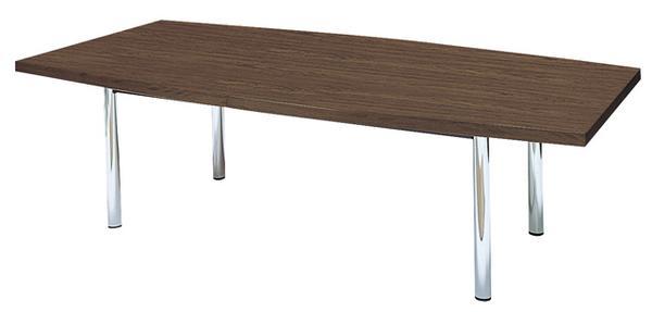 会議テーブル MTE-2412F 舟形 舟型 デスク 面接用 ルキット オフィス家具 インテリア