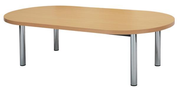 会議テーブル MTE-2412R 楕円 円形 円型 デスク