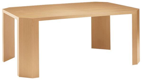 会議テーブル KKE-1212 小型 デスク 木目 社長室 LOOKIT オフィス家具 インテリア
