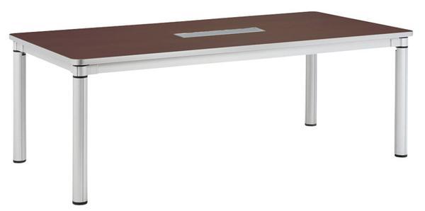 会議テーブル KSY-2110W ワイヤリング プレゼン用 LOOKIT オフィス家具 インテリア