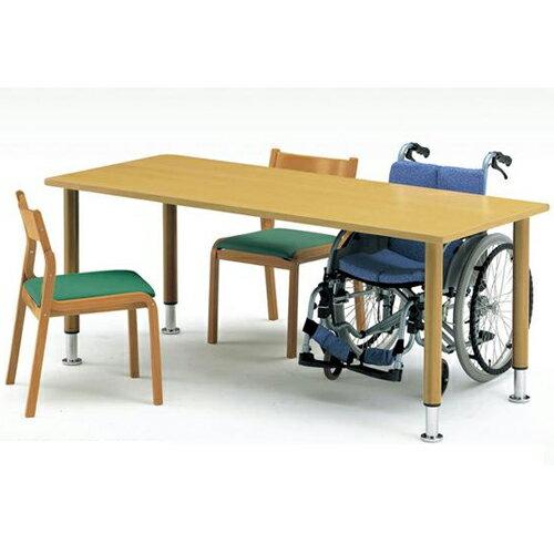 【期間限定!全品ポイント5倍~】 福祉施設用テーブル MYT-1875 老人ホーム 介護施設