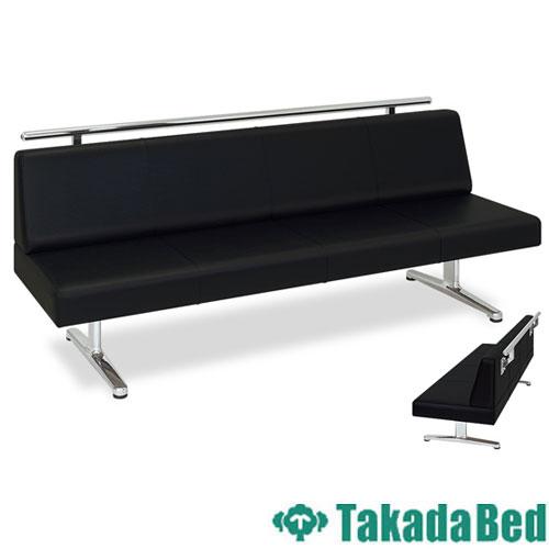 ロビーチェア TB-817-02 長椅子 3人 イス 待合室 送料無料 ルキット オフィス家具 インテリア