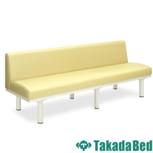 ロビーチェア TB-375 長椅子 4人 背付き 待合室 送料無料 ルキット オフィス家具 インテリア