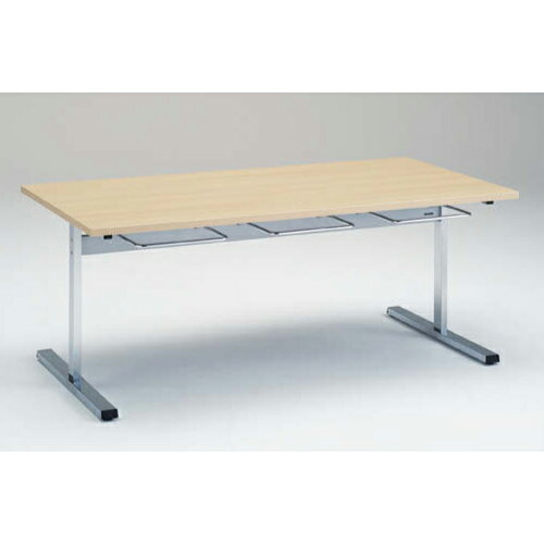 食堂テーブル 6人用 幅180×奥行90cm 送料無料 ハンガー付きタイプ ダイニングテーブル 施設用テーブル 休憩スペース 食堂 オフィス家具 テーブル 9312AA-MP