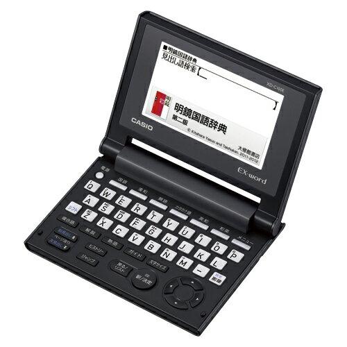 [カシオ]コンパクト電子辞書 ブラック XD-C100E