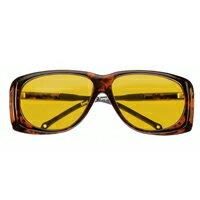 オーバーサングラス イエロー 小 紫外線を防ぐサングラス 16604501 保護メガネ 粉じん UVカット メガネの上から [cut-off filter spectacles] 紫外線カット エッシェンバッハ