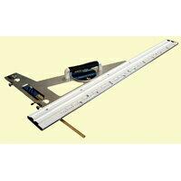 丸ノコガイド定規 エルアングル アジャスト 1m 併用目盛 角度調整付 77373 シンワ測定