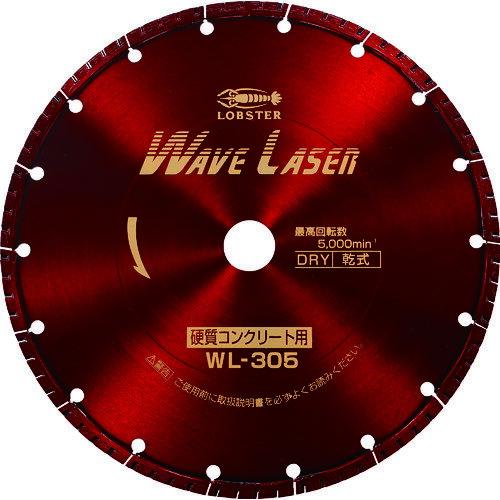エビ ダイヤモンドホイール ウェブレーザー(乾式) 304mm穴径30.5mm [WL305305]  WL305305 1枚販売  送料無料