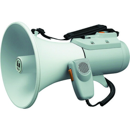 TOA 中型ショルダー型メガホン ホイッスル音付き [ER-2115W]  ER2115W 販売単位:1  送料無料