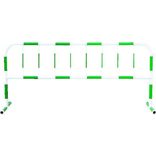 トーグ カラーパイプバリケード緑反射白 [CB-3]  CB3 販売単位:1  送料無料