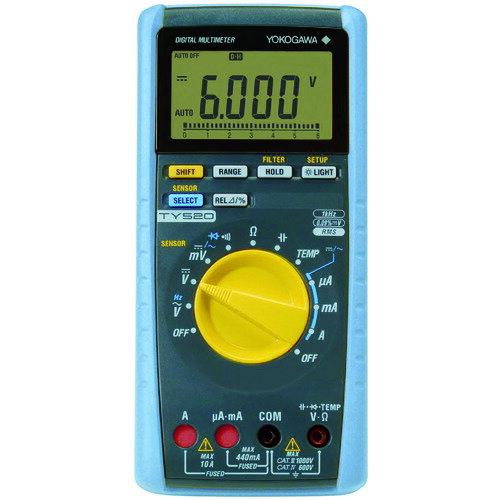 横河 ディジタルマルチメータ [TY520]  TY520 販売単位:1  送料無料