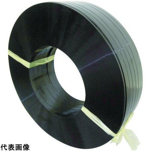 積水 ポリエステルバンド1906×750M-黒 [PET1906M]  PET1906M 販売単位:1  送料無料