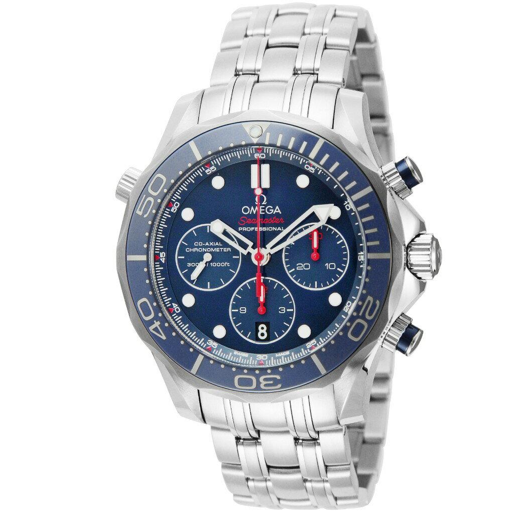 オメガ OMEGA 腕時計 メンズ シーマスター 300 コーアクシャル 212.30.44.50.03.001