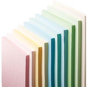 (まとめ) 長門屋商店 Color Paper B5 特厚口 浅黄 ナ-4411 1冊(50枚) 【×20セット】
