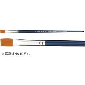 (まとめ)アーテック A&B アクリル用画筆(描画材/油彩画筆) フラット AC-SH 6 【×30セット】