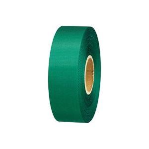 (業務用100セット) ジョインテックス カラーリボン緑 24mm*25m B824J-GR