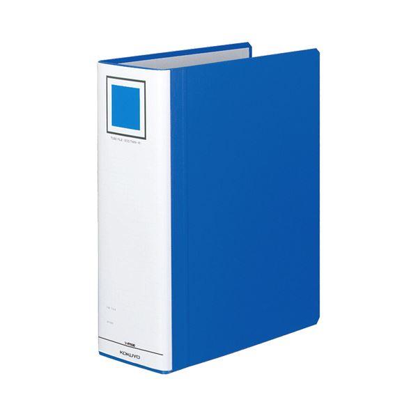 (まとめ) コクヨ チューブファイル(エコツインR) A4タテ 900枚収容 背幅105mm 青 フ-RT690B 1冊 【×10セット】