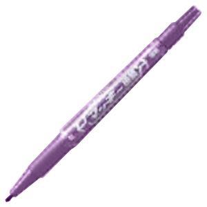(業務用300セット) ZEBRA ゼブラ 油性ペン/マッキー 【極細 0.5mm/紫】 MO-120-MC-PU