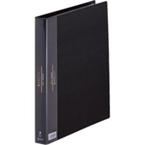 (業務用30セット) キングジム ヒクタス クリアファイル/バインダータイプ 【A4/タテ型】 7139 ブラック(黒)