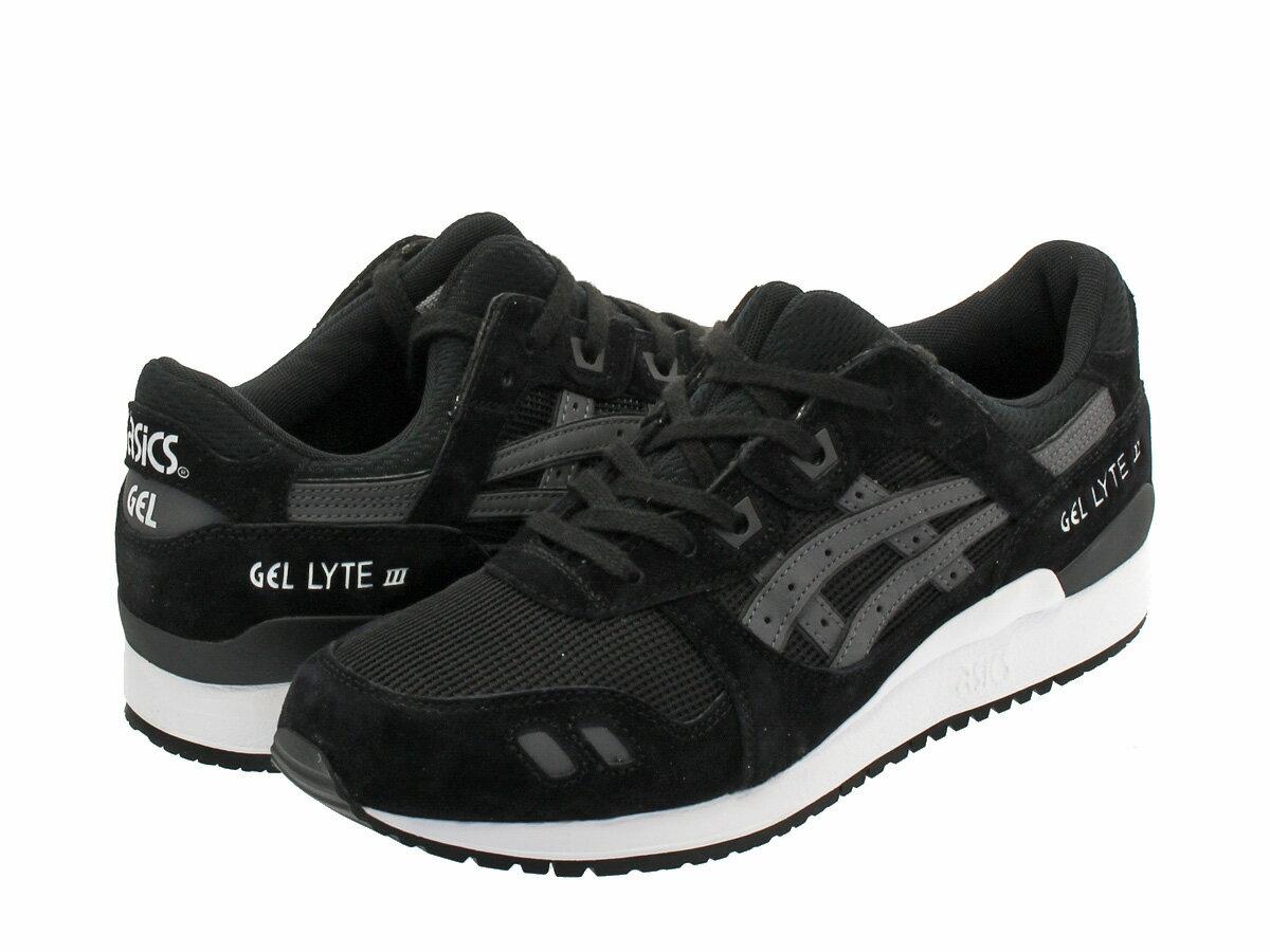 【9月15日(金)発売】 ASICS Tiger GEL-LYTE III アシックス タイガー ゲルライト 3 BLACK/BLACK
