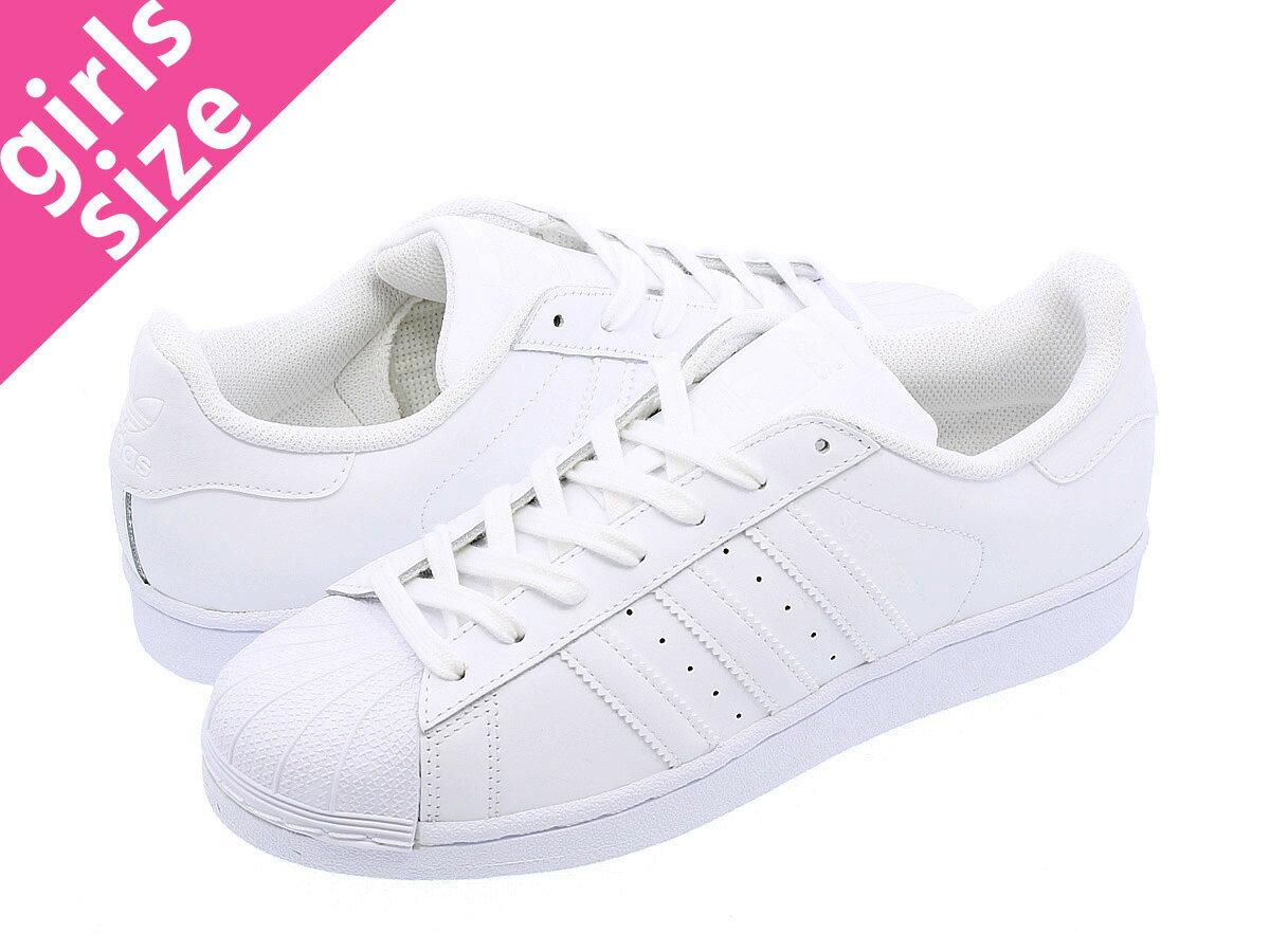 【大人気の女の子サイズ♪】 adidas SUPERSTAR W 【adidas Originals】 アディダス スーパースター W WHITE/WHITE