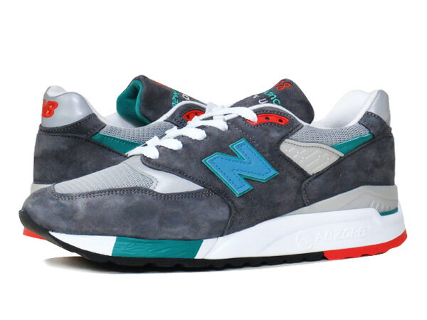 NEW BALANCE M998CSRR 【MADE IN U.S.A.】 ニューバランス M 998 CSRR GREY/GREEN