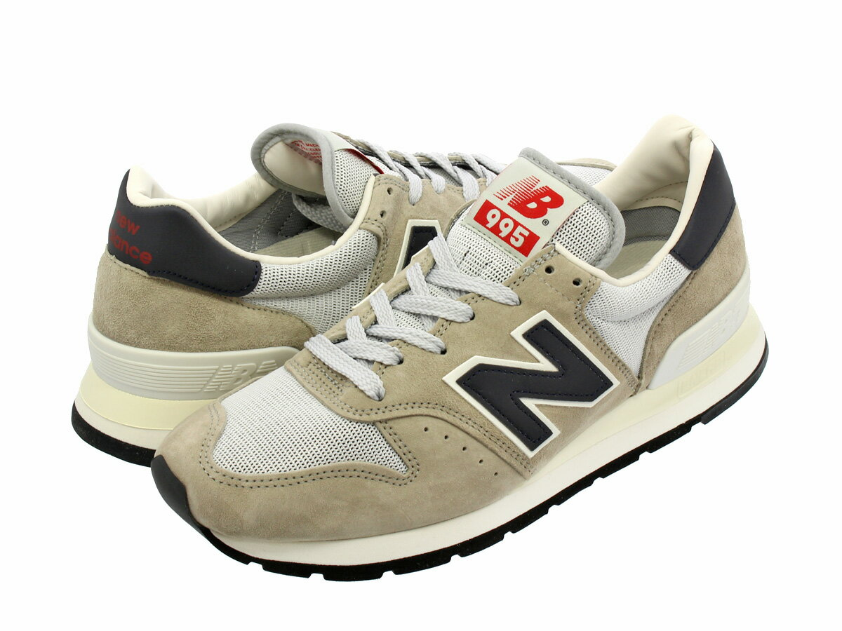 NEW BALANCE M995CHA 【MADE IN U.S.A】 ニューバランス M 995 CHA OFF WHITE/NAVY