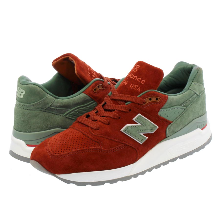 NEW BALANCE M998BMG 【CONCEPTS】【CITY RIVALRY】 【MADE IN U.S.A.】  ニューバランス M 998 BMG RED/BOWN/OLIVE