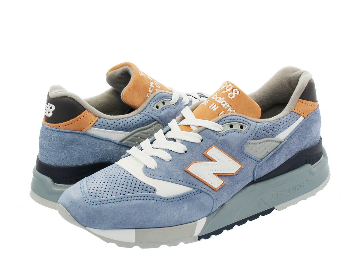 NEW BALANCE M998XAB 【MADE IN U.S.A.】 ニューバランス M 998 XAB DUSTY BLUE