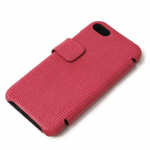 【国内正規品】新作 THE CASE FACTORY ( ザ ケース ファクトリー ) / LIZARD / iPhone 7 / 8 対応 / リザード型押し レザー カードケース【ピンク】【送料無料】