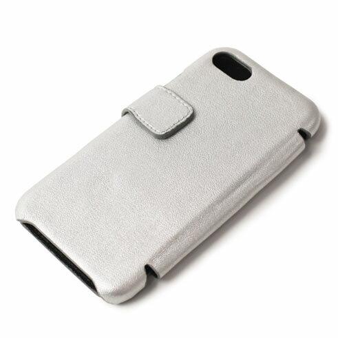 【国内正規品】新作 THE CASE FACTORY ( ザ ケース ファクトリー ) / METALLIC SHEEP MATTE / iPhone 7 / 8 対応 / カードケース【シルバー】【送料無料】