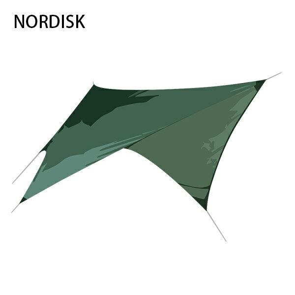 [全品送料無料]ノルディスク NORDISK タープ ヴォス ダイヤモンド SI 117009 フォレストグリーン Voss Diamond SI Forest Green - incl. guy-ropes キャンプ 雨よけ 日よけ