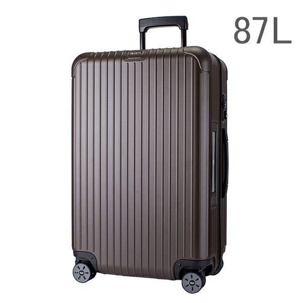 【E-Tag】 電子タグ RIMOWA リモワ 810.73.38.4 サルサ SALSA 4輪MultiWheel matte bronze マットブロンズ スーツケース 87L 送料無料