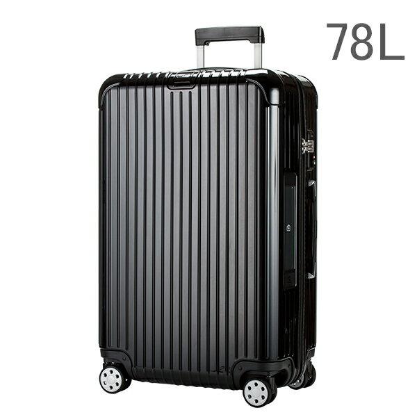 【E-Tag】 電子タグ RIMOWA リモワ 【4輪】 サルサ デラックス スーツケース マルチ 870.70 87070 【Salsa Deluxe 】 Multiwheel ブラック 78L (830.70.50.4) 送料無料