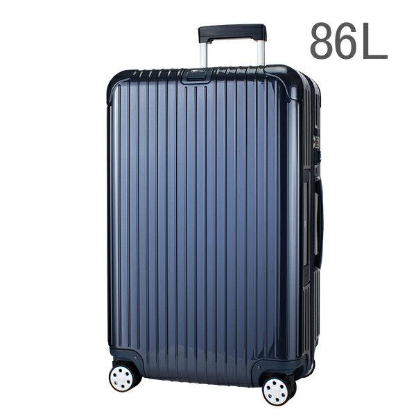 【E-Tag】 電子タグ  RIMOWA リモワ SALSA Deluxe サルサデラックス 830.70.12.4 マルチホイール blue ブルー MultiWheel 86L 送料無料