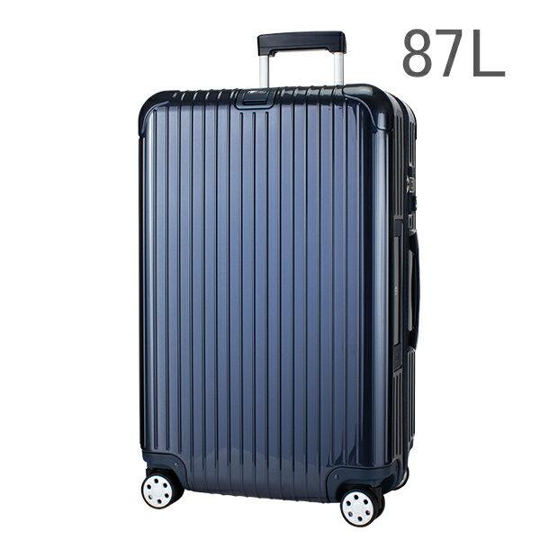 【E-Tag】 電子タグ  RIMOWA リモワ SALSA Deluxe サルサデラックス 830.73.12.4 マルチホイール blue ブルー MultiWheel 87L 送料無料