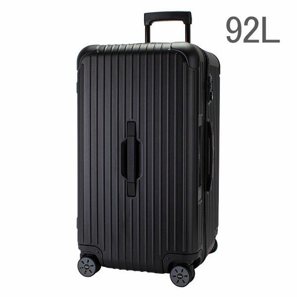 【E-Tag】 電子タグ RIMOWA リモワ サルサ 834.75 83475 スポーツ マルチホイール 4輪 スーツケース ブラック Sport Multiwheel 92L (810.75.32.4) 送料無料