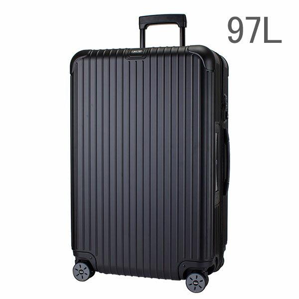 【E-Tag】 電子タグ RIMOWA リモワ サルサ 834.77 83477 マルチホイール 4輪 スーツケース ブラック MULTIWHEEL 97L (810.77.32.4) 送料無料