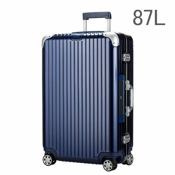 【E-Tag】 電子タグ RIMOWA リモワ Limbo リンボ 891.73 89173 マルチホイール 73 4輪 スーツケース ナイトブルー Multiwheel73 87L  (881.73.21.4)