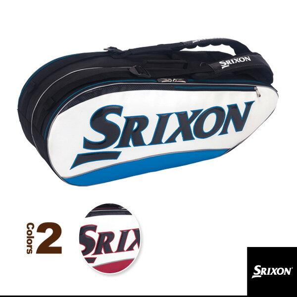 ラケットバッグ/ラケット8本収納可(SPC2782)《スリクソン テニス バッグ》