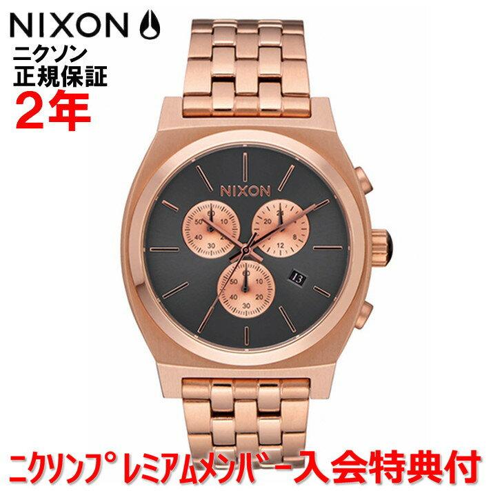 【国内正規品】  NIXON ニクソン 腕時計 メンズ レディース  Time Teller Chrono 39mm/タイムテラークロノ   NA9722046-00   【10P03Dec16】
